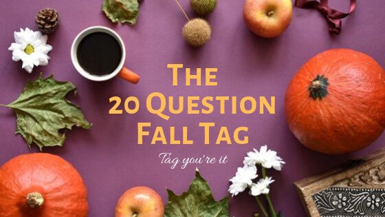 cover of fall question tag