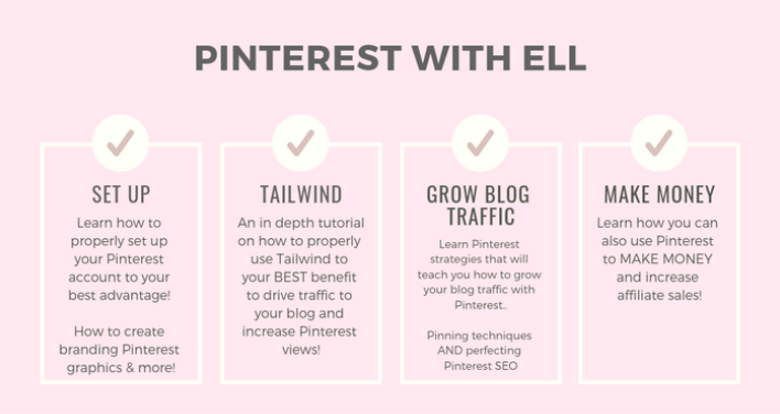 Pinterest With Ell graphic.