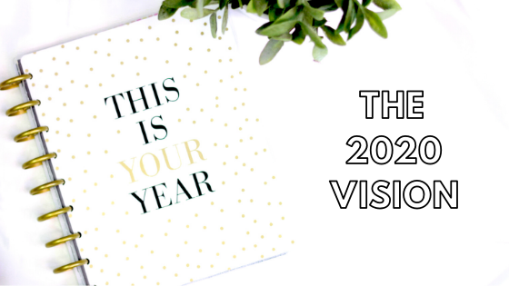 The 2020 Vision – Goals & Plans