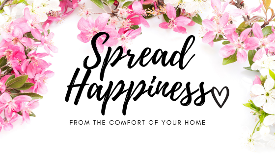 spread happiness banner