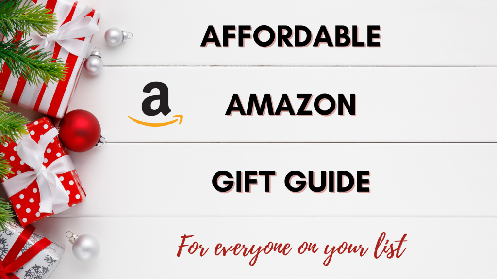 affordable amazon gift guide