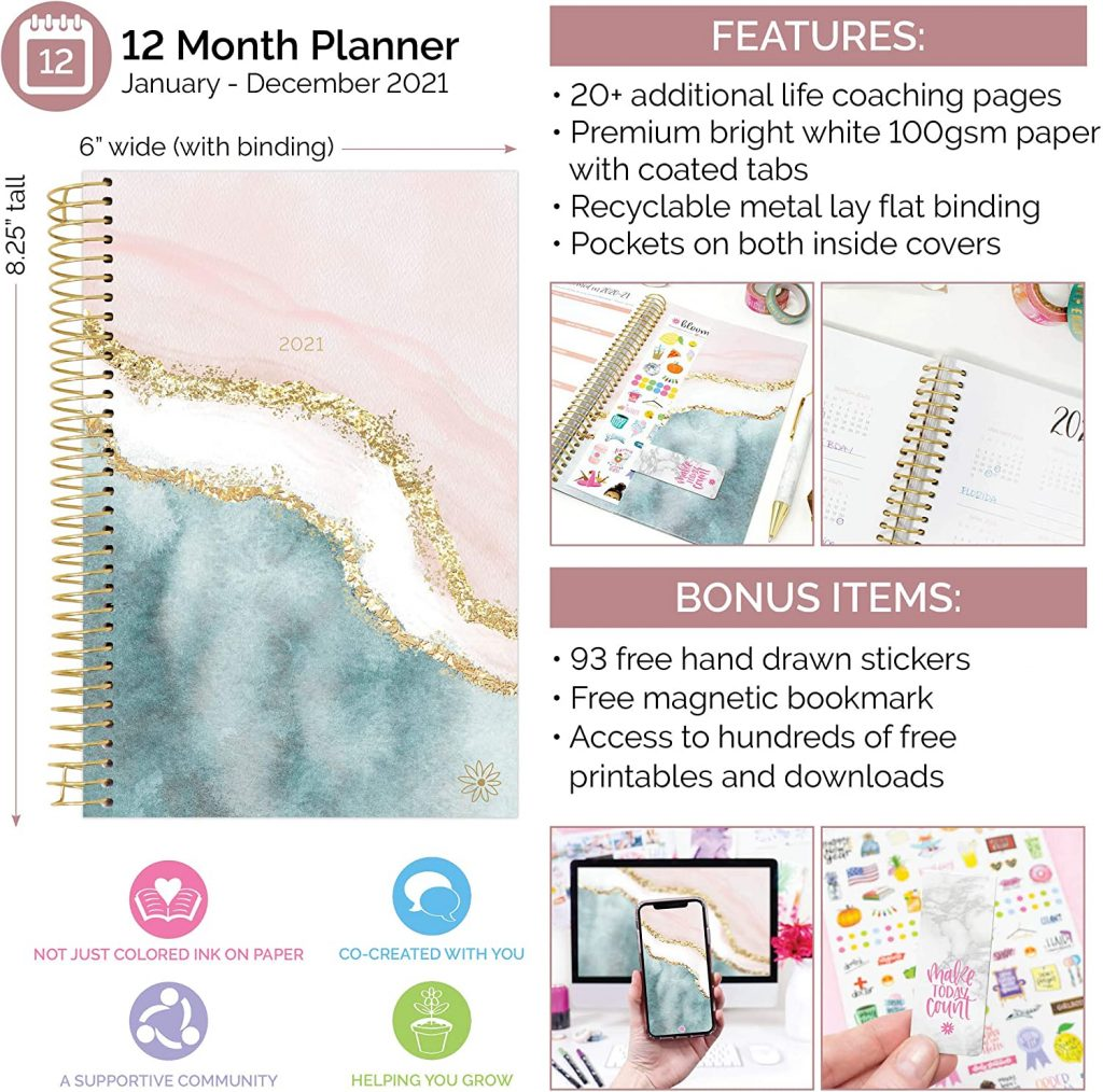 2021 weekly planner - gift guide