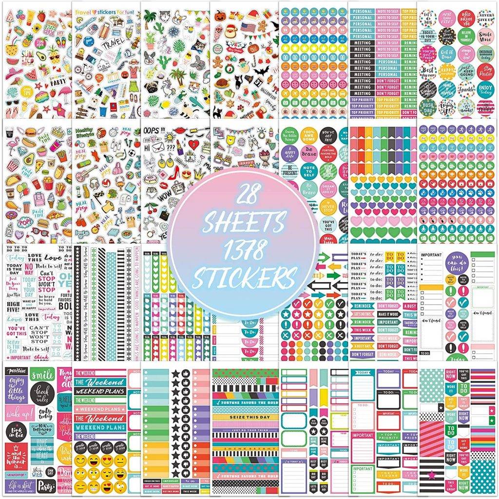 stickers for planner