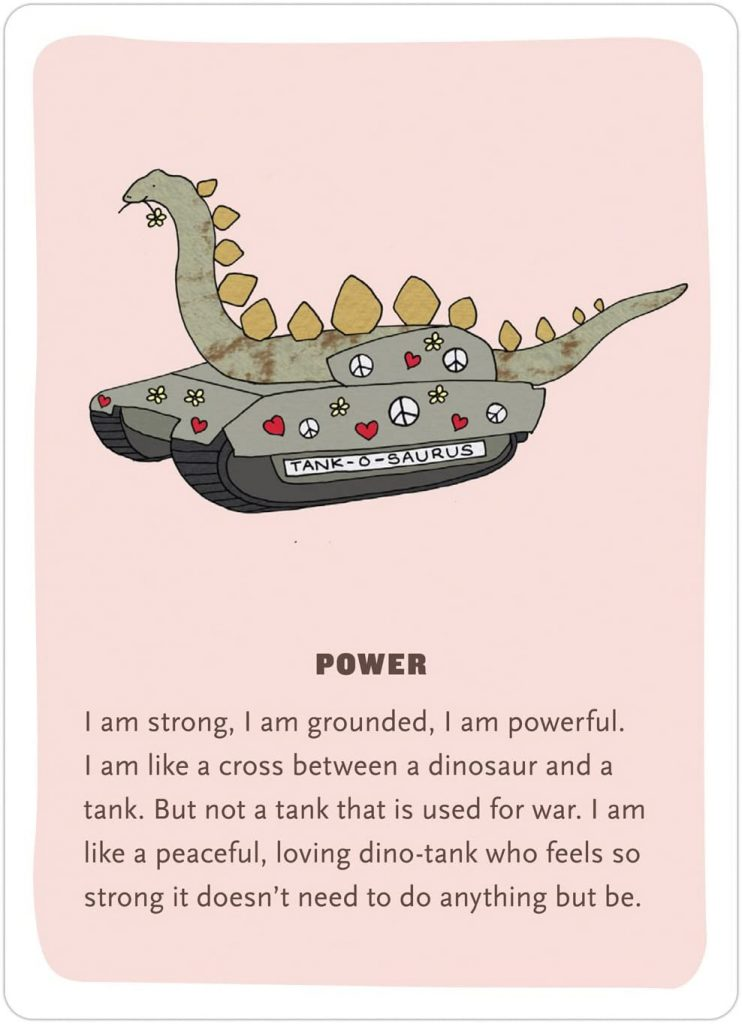 affirmation card example