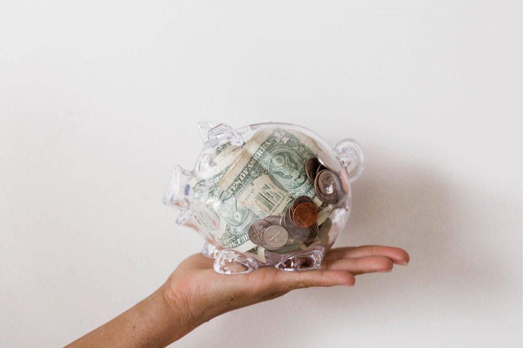 New years goal: put money in savings