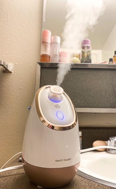 aira face steamer for dry skin