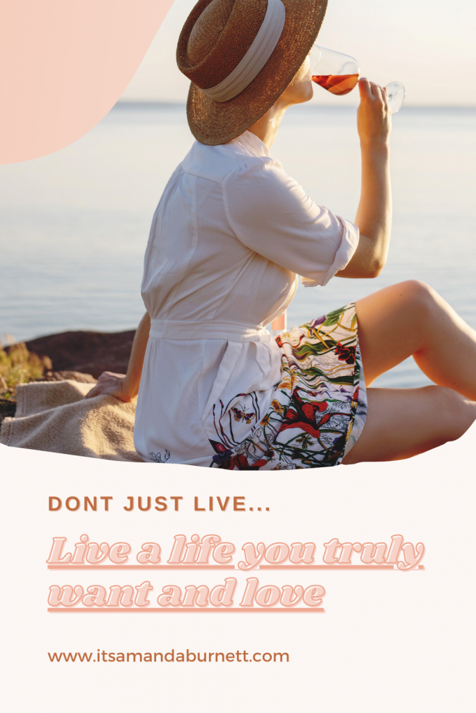 live a life you love pin image